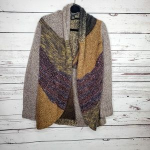 A. Giannetti Fall Open Front Cardigan Sweater 1X
